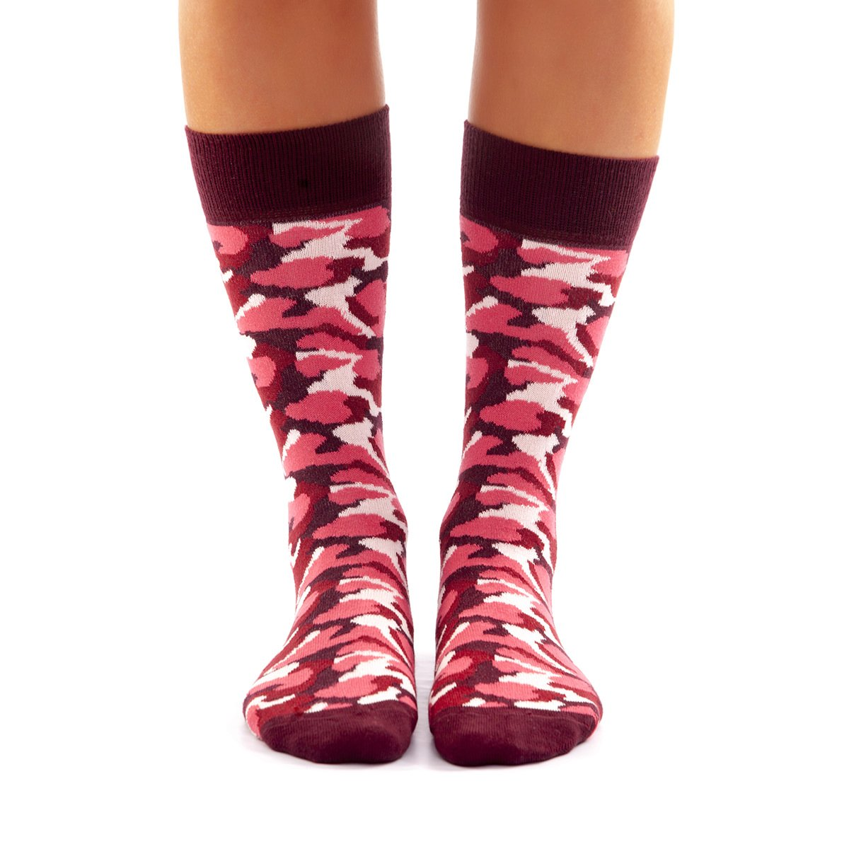 Calcetines Camuflaje Rosa kalcetin.es