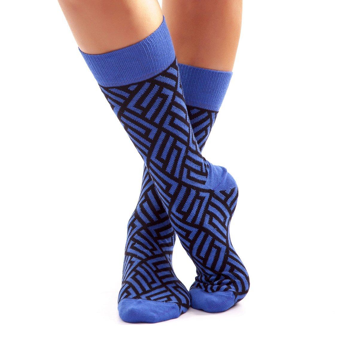 Calcetines Rombos Azules kalcetin.es