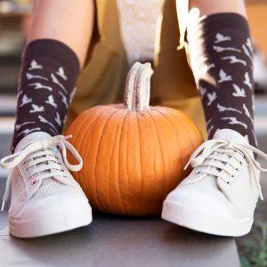 calcetines cana media pajaros kalcetines