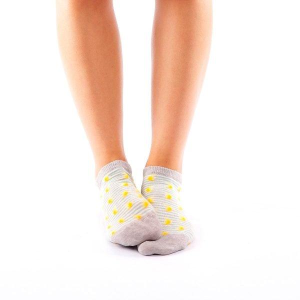 calcetines cortos plantanos casual