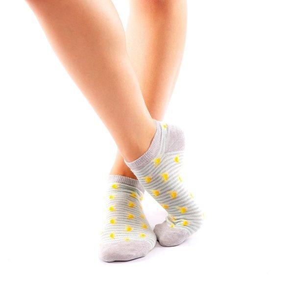 calcetines cortos plantanos cruzado