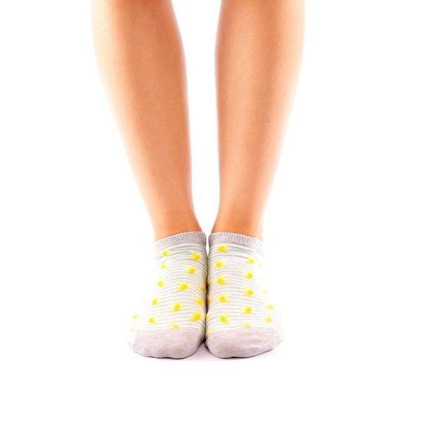 calcetines cortos plantanos frente