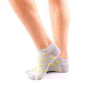 calcetines cortos plantanos lateral
