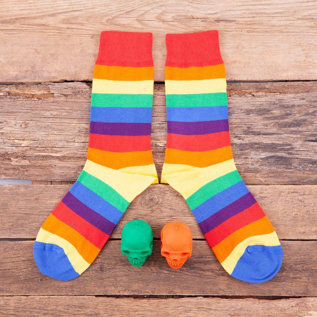 Calcetines arcoiris rainbow Kalcetines