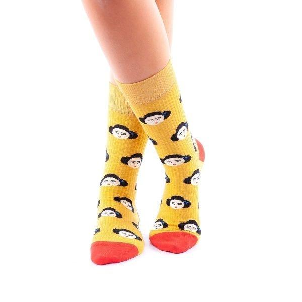 calcetines japonesas cruzado
