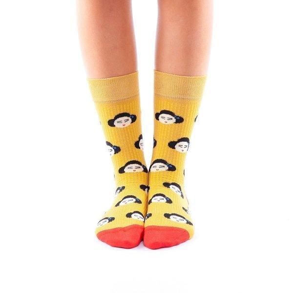calcetines japonesas frente
