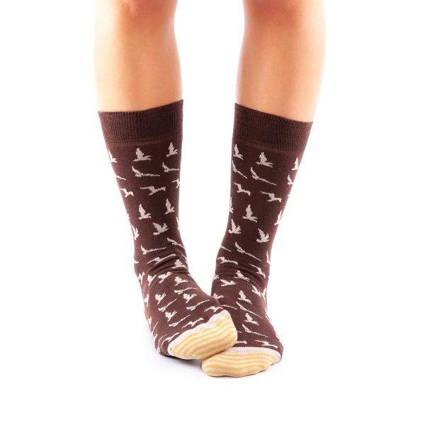 calcetines pajaros casual
