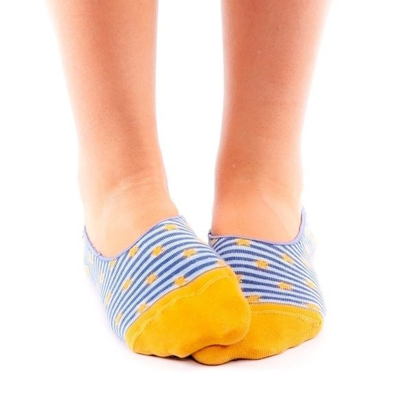 calcetines pinkies estrella casual