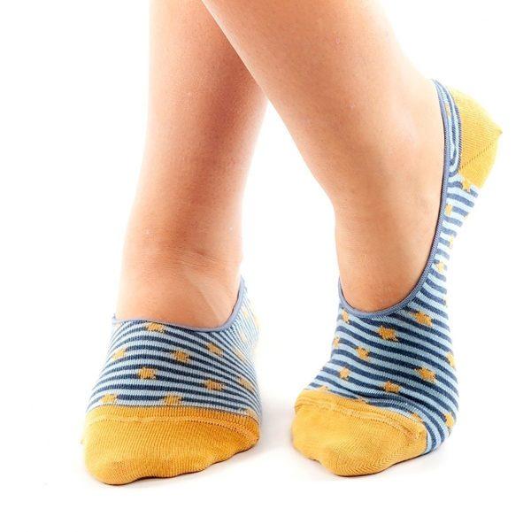 calcetines pinkies estrella cruzado