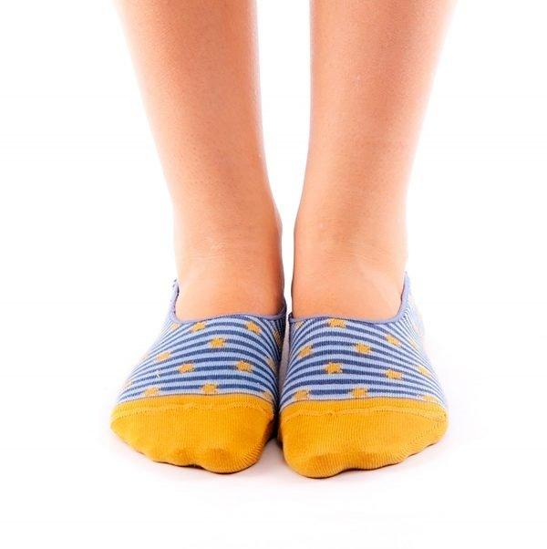 calcetines pinkies estrella frente
