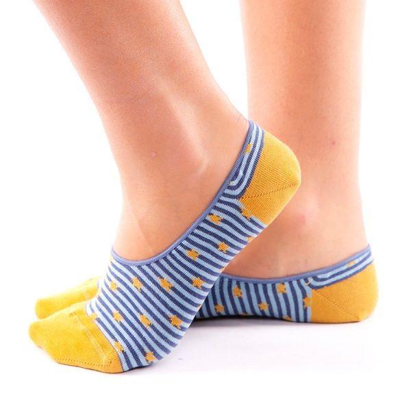 calcetines pinkies estrella lateral