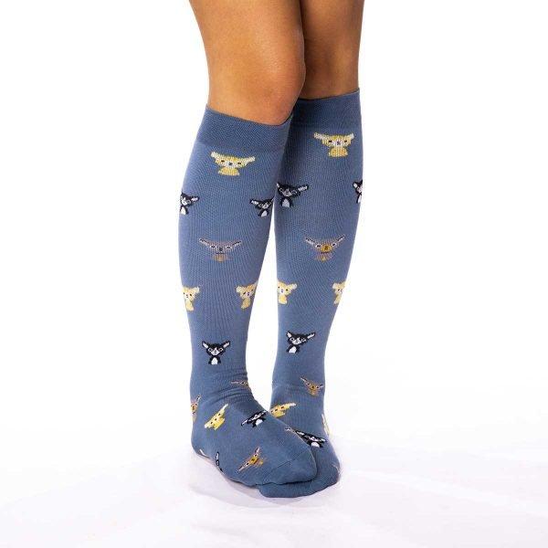 calcetines compresivos gatitos kalcetin_es