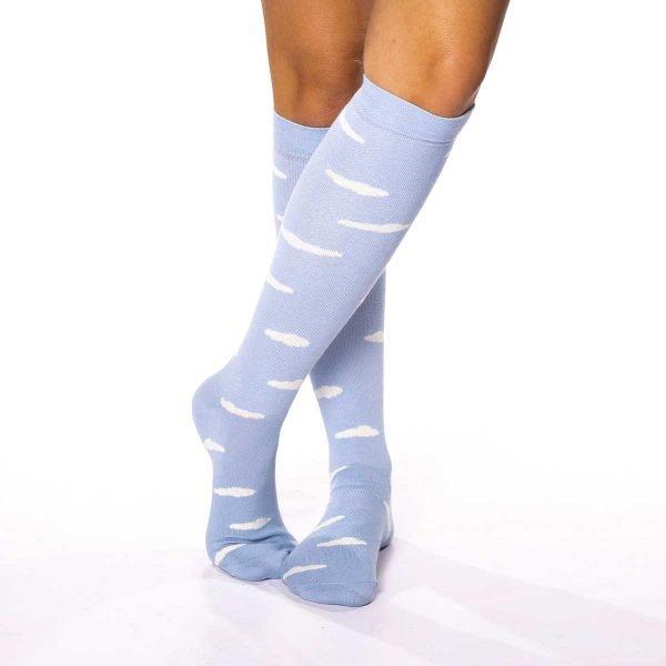 calcetines de viaje nubes kalcetin.es