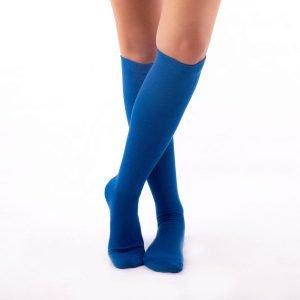 Calcetines compresivos azul kalcetin.es