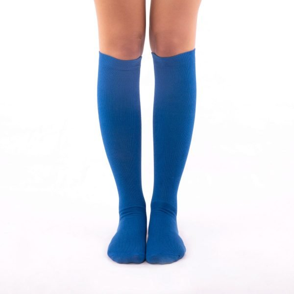 Calcetines de compresión azul kalcetin