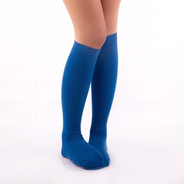 Calcetines de compresión azul kalcetin.es