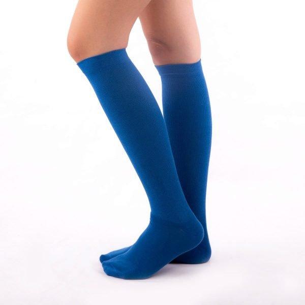 Calcetines compresión azul kalcetin.es