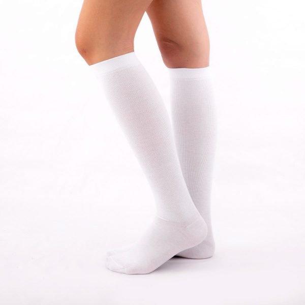 calcetines de compresion blanco kalcetin.es