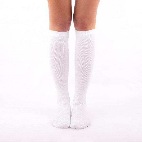 calcetines compresion blanco kalcetin.es