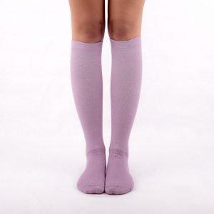 Calcetines de compresión lilas kalcetin.es