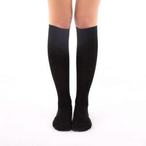 Calcetines de compresión negros kalcetin.es