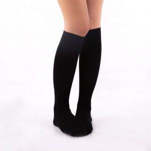 Calcetines compresivos color negros kalcetin.es