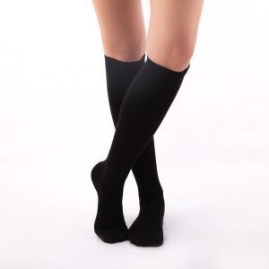 Calcetines compresivos negros kalcetin.es