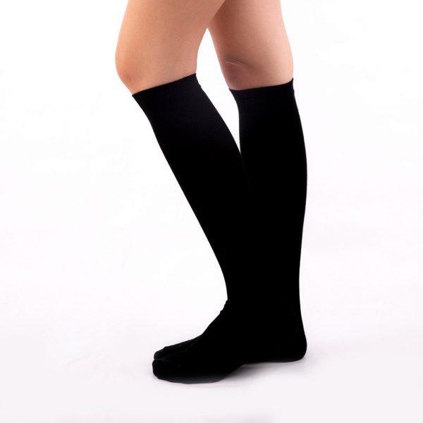 Calcetines compresión negros kalcetin.es