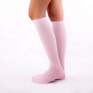 Calcetines compresión rosa kalcetin.es