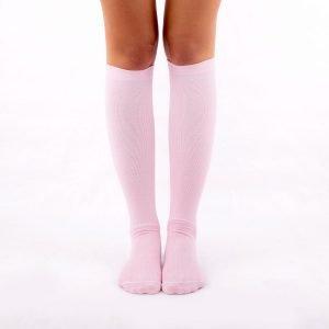 Calcetines de compresión rosa kalcetin.es