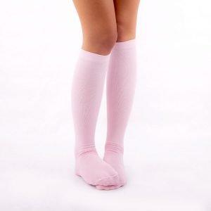 Calcetines de compresión rosa kalcetin