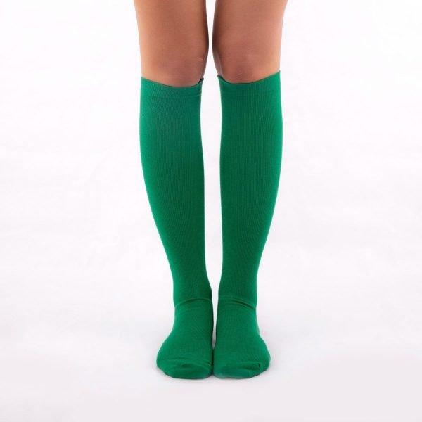 Calcetines de compresión verde kalcetin.es