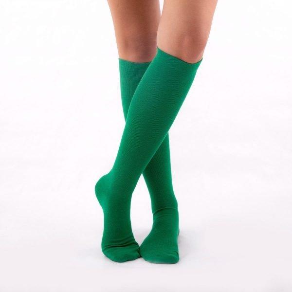 Calcetines compresión verde kalcetin