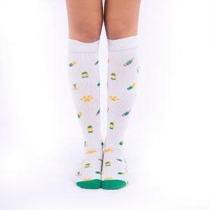 calcetines de compresion vaterinarios gris kalcetin