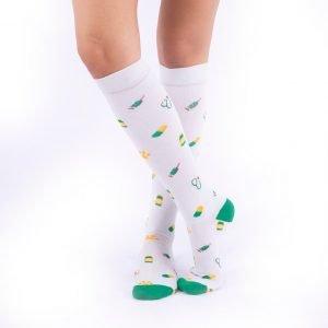 calcetines de compresion vaterinarios fondo gris kalcetines