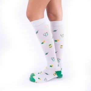 calcetines de compresion vaterinarios fondo gris kalcetin