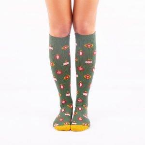 calcetines de compresion navidad kalcetin
