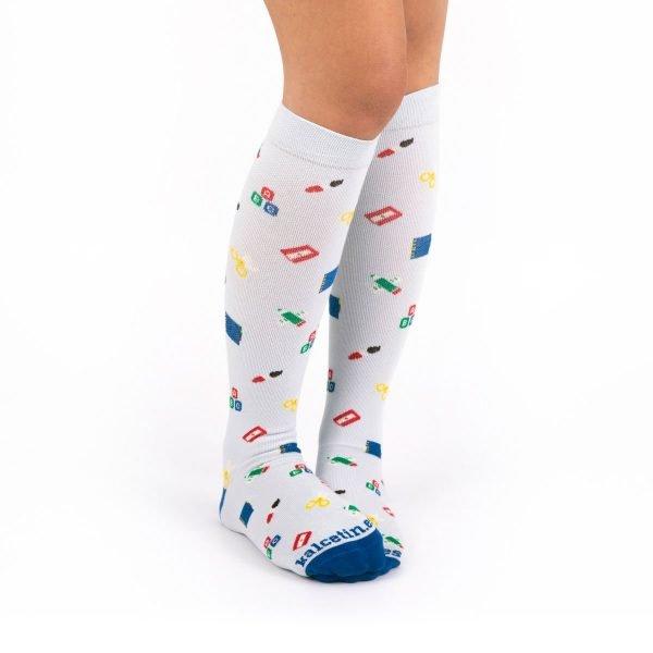 calcetines compresivos profesores casual kalcetin