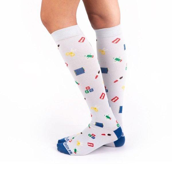 calcetines compresivos profesores lateral